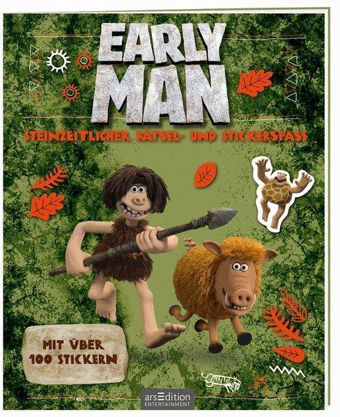 Early Man - Steinzeitlicher Rätsel- und Stickerspaß (Mängelexemplar)