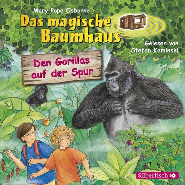 Den Gorillas auf der Spur (Das magische Baumhaus 24) - Hörbuch 1 CD