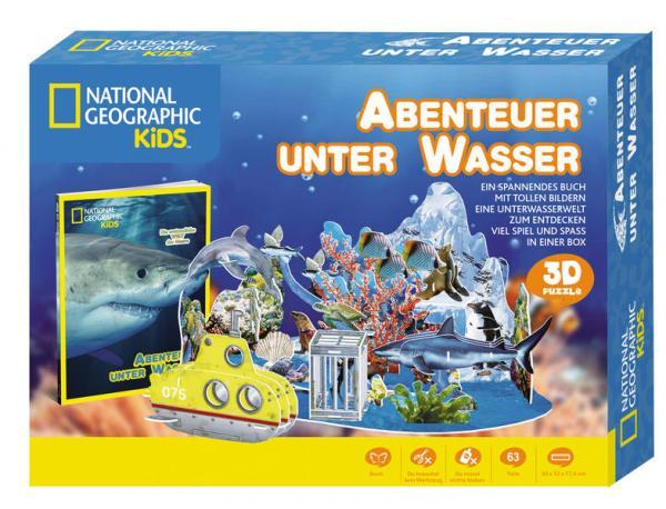 Aktion: Abenteuer unter Wasser - National Geographic Kids