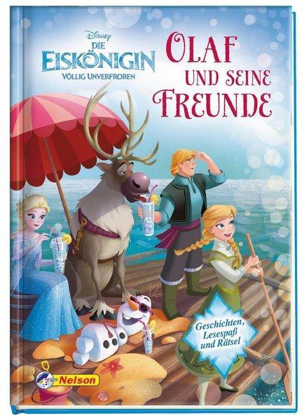 Disney Eiskönigin: Olaf und seine Freunde - Geschichten, Lesespaß und Rätsel
