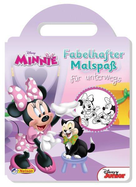 Disney Minnie Maus: Fabelhafter Malspaß für unterwegs (Mängelexemplar)