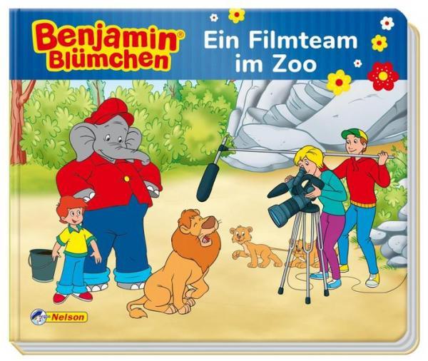 Benjamin Blümchen: Benjamin Blümchen: Ein Filmteam im Zoo (Mängelexemplar)