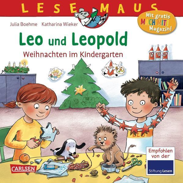 LESEMAUS 163: Leo und Leopold – Weihnachten im Kindergarten (Mängelexemplar)