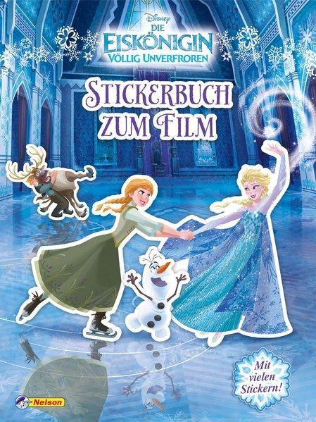 Disney Eiskönigin: Stickerbuch zum Film (Mängelexemplar)