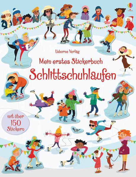 Mein erstes Stickerbuch: Schlittschuhlaufen (Mängelexemplar)