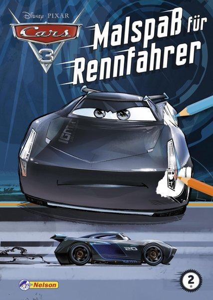 Disney Cars 3: Malspaß für Rennfahrer (Mängelexemplar)