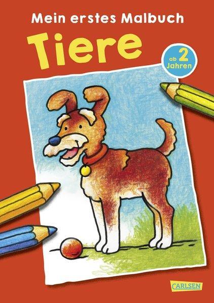 Mein erstes Malbuch: Tiere: Malen ab 2 Jahren (Mängelexemplar)