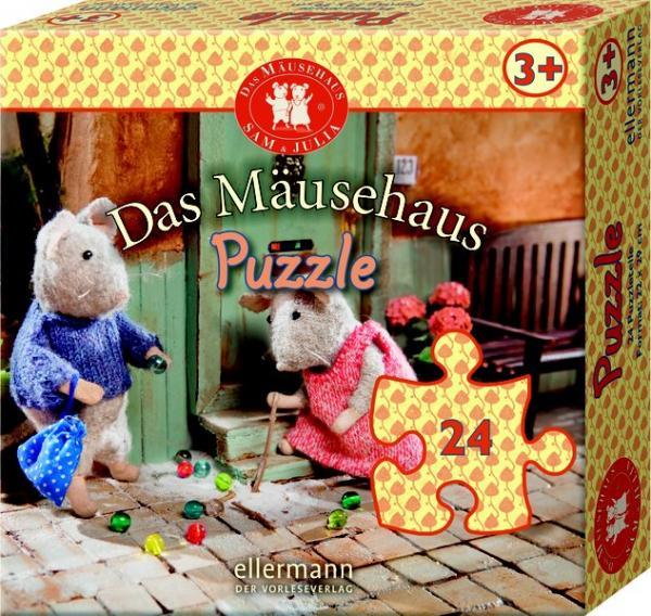 Das Mäusehaus Puzzle 24 Teile