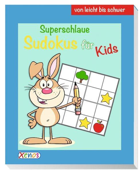 Superschlaue Sudokus für Kids (Hase) - von leicht bis schwer (Mängelexemplar)