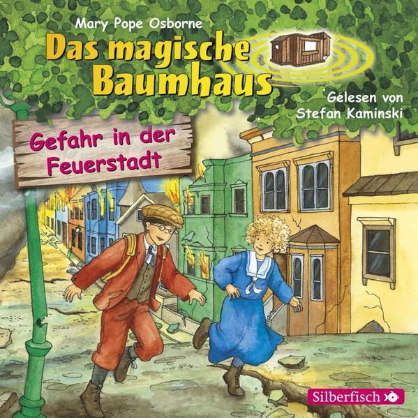 Gefahr in der Feuerstadt (Das magische Baumhaus 21) - Hörbuch 1 CD
