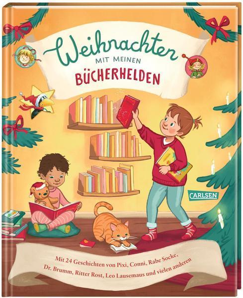 Weihnachten mit meinen Bücherhelden-24 Geschichten von Pixi, Conni, Rabe Socke (Mängelexemplar)