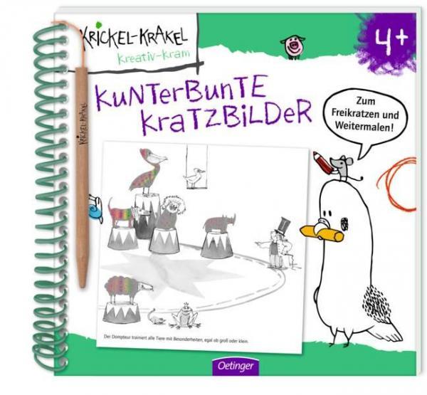 Krickel-Krakel Kunterbunte Kratzbilder