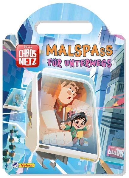 Disney Chaos im Netz: Malspaß für unterwegs (Mängelexemplar)