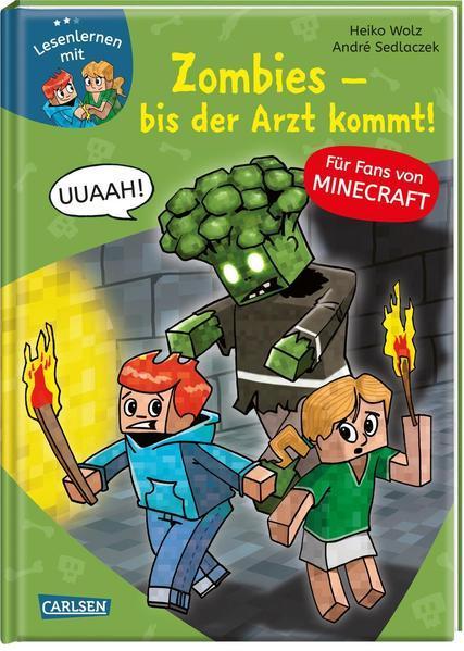 Lesenlernen mit Spaß – Minecraft 1: Zombies – bis der Arzt kommt! (Mängelexemplar)