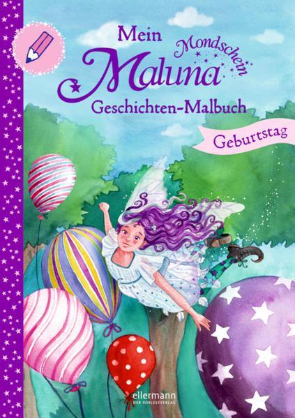 Mein Maluna Mondschein Geschichten-Malbuch