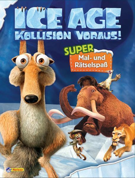 """Ice Age """"Kollision voraus!"""": Super Mal- und Rätselspaß (Mängelexemplar)"""