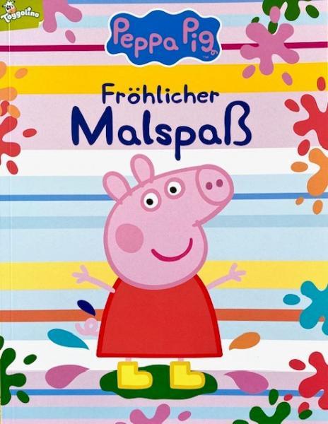 Peppa Pig: Fröhlicher Malspaß (Mängelexemplar)