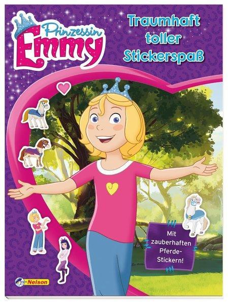 Prinzessin Emmy: Traumhaft toller Stickerspaß - Mit zauberhaften Pferdestickern!