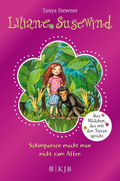 Liliane Susewind – Schimpansen macht man nicht zum Affen - Sonderausgabe mit Glitzer-Folie