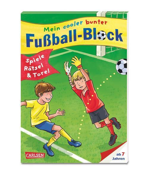 Mein cooler bunter Fußball-Block