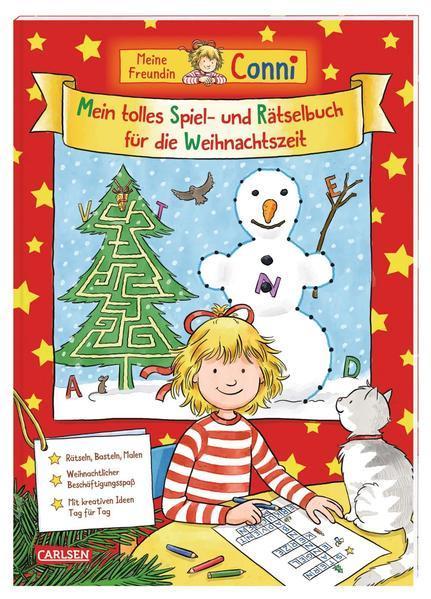Conni Gelbe Reihe: Mein tolles Spiel- und Rätselbuch für die Weihnachtszeit (Mängelexemplar)