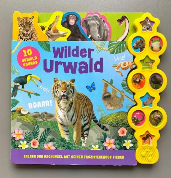 Wilder Urwald - Soundbuch (Mängelexemplar)