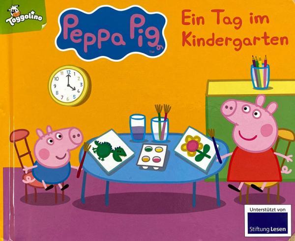 Peppa Pig: Ein Tag im Kindergarten (Mängelexemplar)