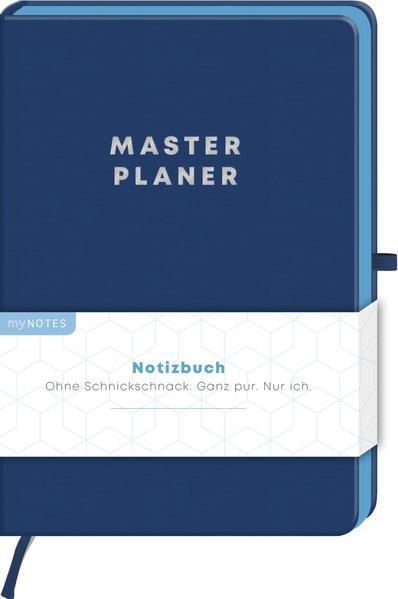 myNOTES Notizbuch Classics Masterplaner - Notizbuch für Träume, Pläne und Ideen