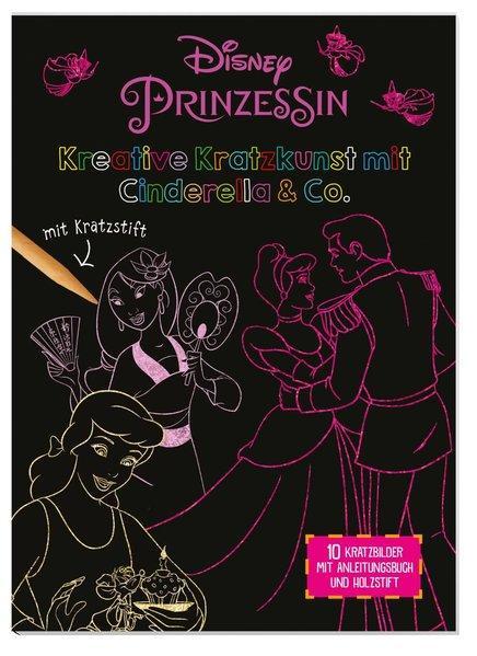 Disney Prinzessin: Kreative Kratzkunst mit Cinderella & Co.