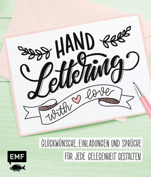 Handlettering with Love - Glückwünsche, Einladungen und Sprüche (Mängelexemplar)