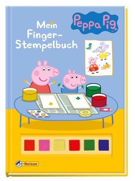 Peppa: Mein Finger-Stempelbuch (Mängelexemplar)