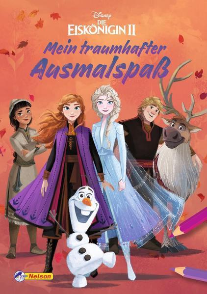 Disney Die Eiskönigin 2: Mein traumhafter Ausmalspaß - Malblock mit 128 Seiten (Mängelexemplar)