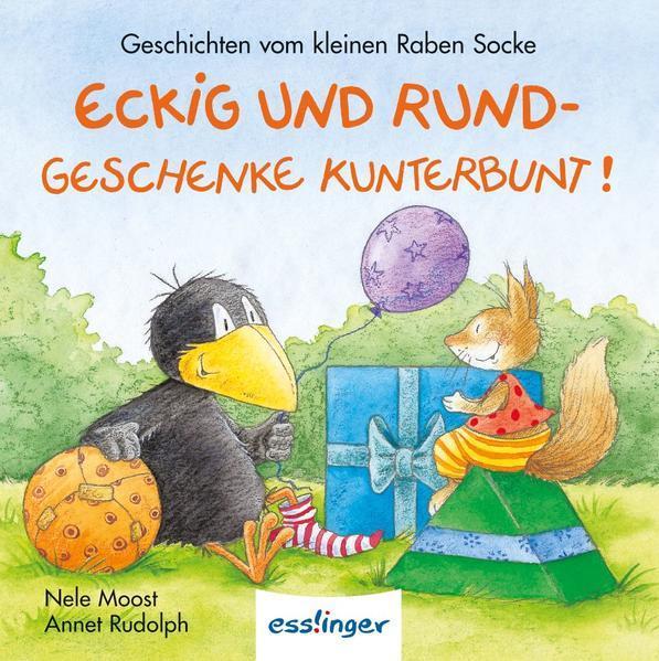 Der kleine Rabe Socke: Eckig und Rund – Geschenke kunterbunt! – Mini-Ausgabe (Mängelexemplar)