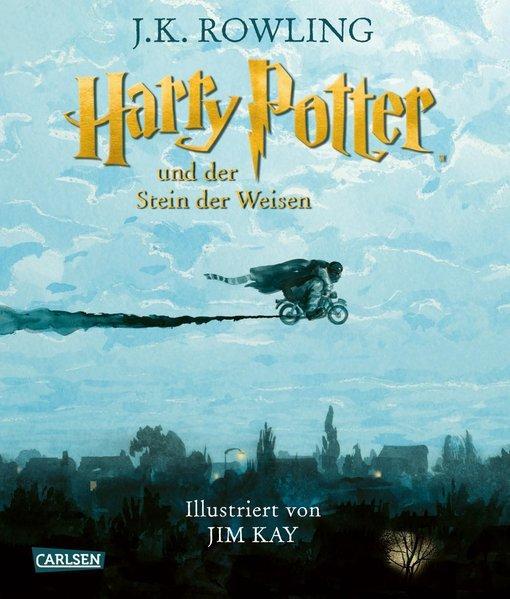 Harry Potter und der Stein der Weisen (farbig illustrierte Schmuckausgabe,Softcover)(Mängelexemplar)