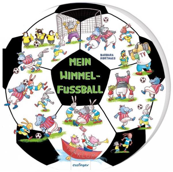 Mein Wimmel-Fußball - Witziges Kinderbuch ab 3 Jahren (Mängelexemplar)