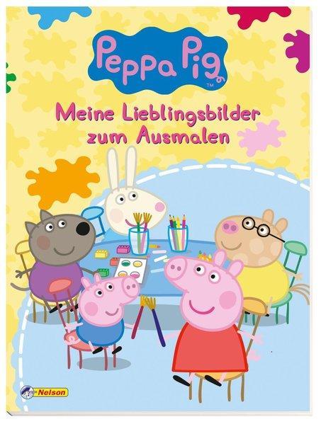 Peppa Pig - Meine Lieblingsbilder zum Ausmalen