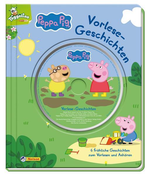 Peppa: Vorlesegeschichten mit CD - 6 fröhliche Geschichten zum Vorlesen (Mängelexemplar)