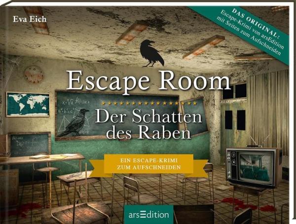 Escape Room. Der Schatten des Raben. Escape-Krimi zum Aufschneiden (Mängelexemplar)