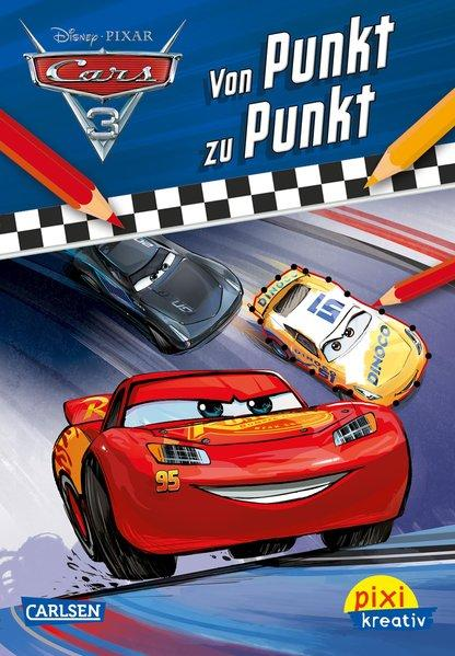Pixi kreativ 111: Disney Cars 3 - Von Punkt zu Punkt (Mängelexemplar)