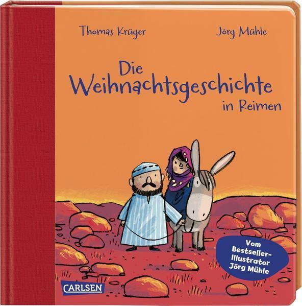 Die Weihnachtsgeschichte in Reimen - Mit hochwertigem Leinenrücken (Mängelexemplar)