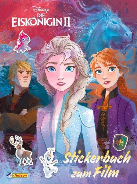 Disney Die Eiskönigin 2: Stickerbuch zum Film - Die Geschichte mit 4 Stickerseiten (Mängelexemplar)