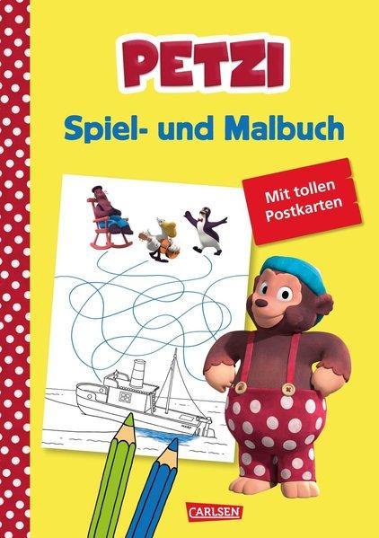 Petzi: Spiel- und Malbuch - zur Fernsehserie (Mängelexemplar)
