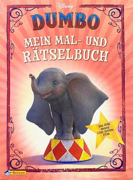 Dumbo: Mein Mal- und Rätselbuch