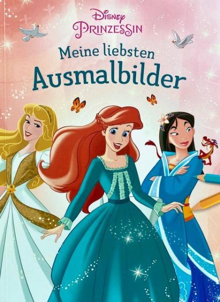 Disney Prinzessin: Meine liebsten Ausmalbilder (Mängelexemplar)