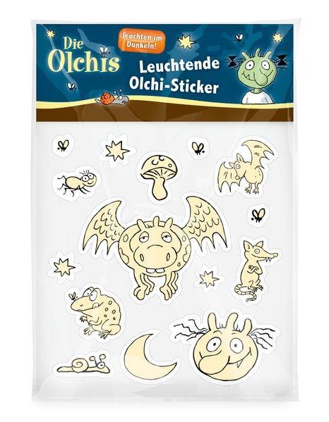 Die Olchis Leuchtende Olchi-Sticker