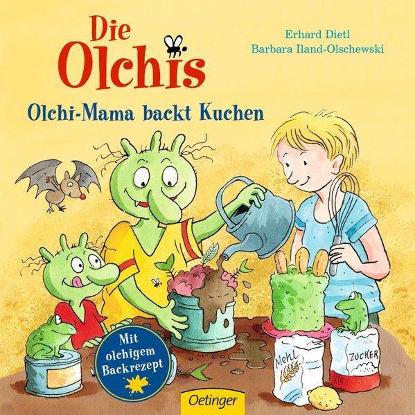 Die Olchis Olchi-Mama backt Kuchen