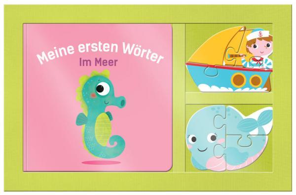 Meine ersten Wörter - Im Meer - mit Puzzle