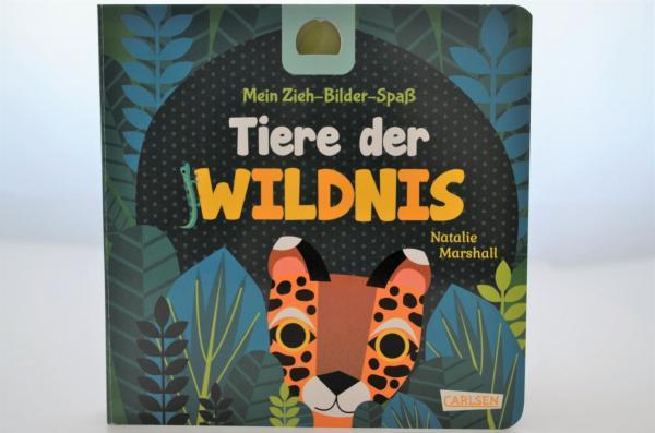 Mein Zieh-Bilder-Spaß: Tiere der Wildnis