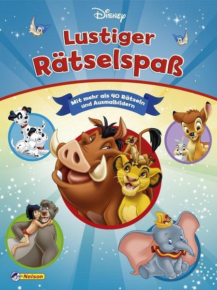 Disney Klassiker: Lustiger Rätselspaß (Mängelexemplar)