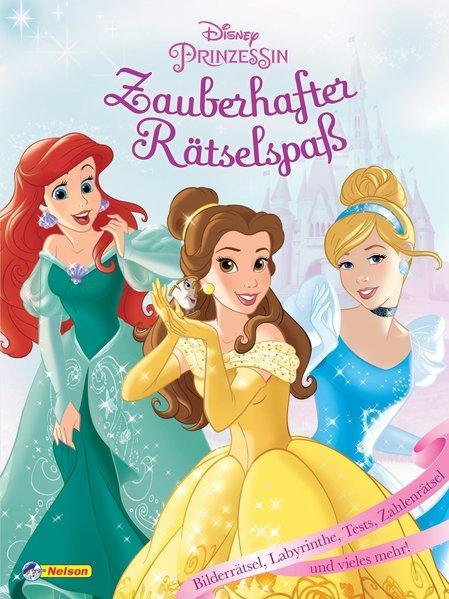 Disney Prinzessin: Zauberhafter Rätselspaß (Mängelexemplar)